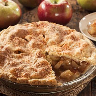 Ala Mode has apple pie